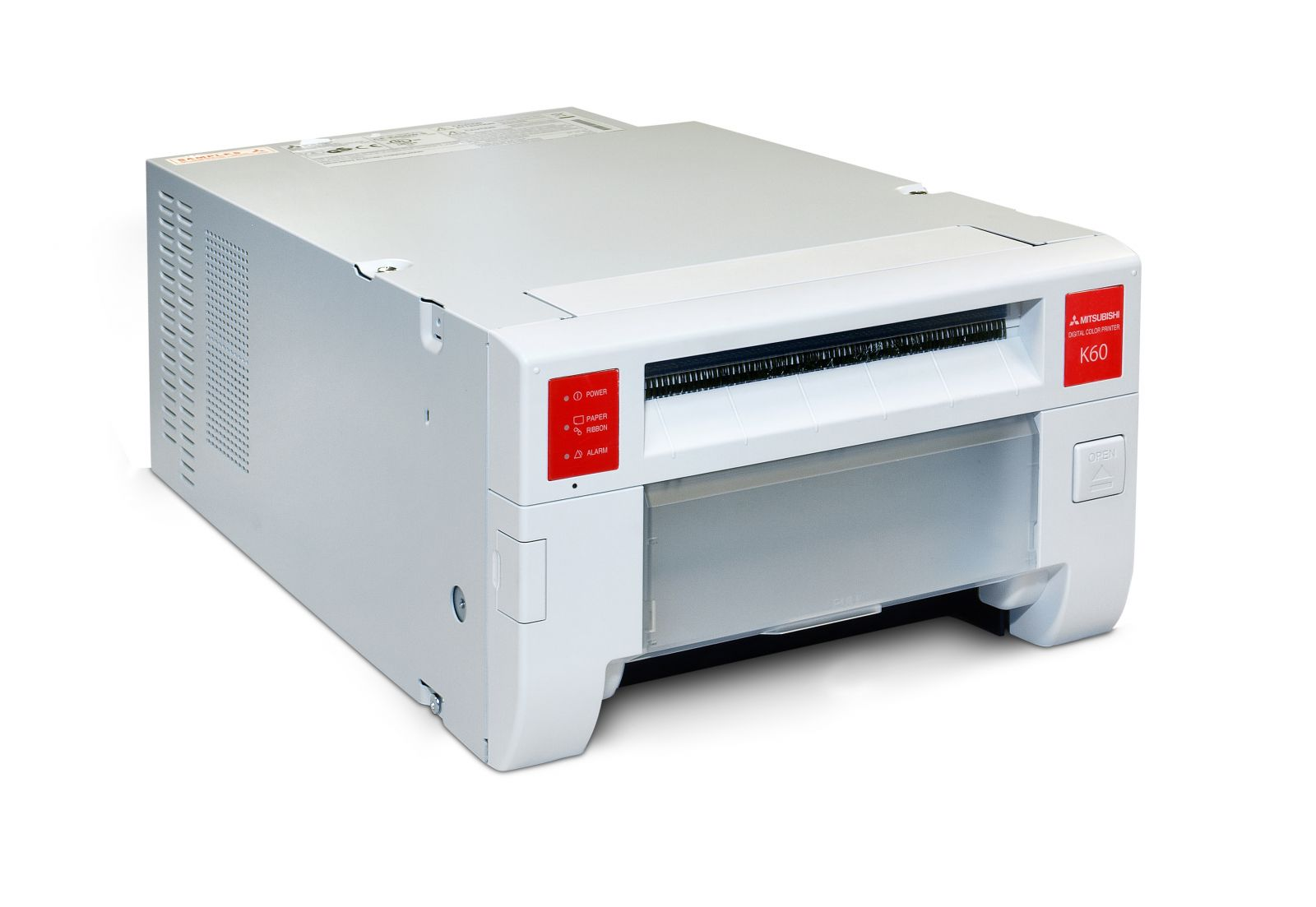 mitsubishi cp-k60dw-s photo printer - system insight - instant
