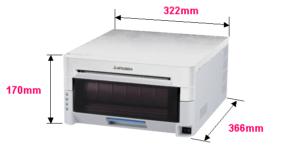 Mitsubishi CP9800DW dimensions