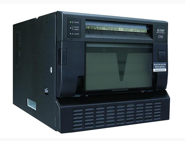 mitsubishi cp-d90w photo printer