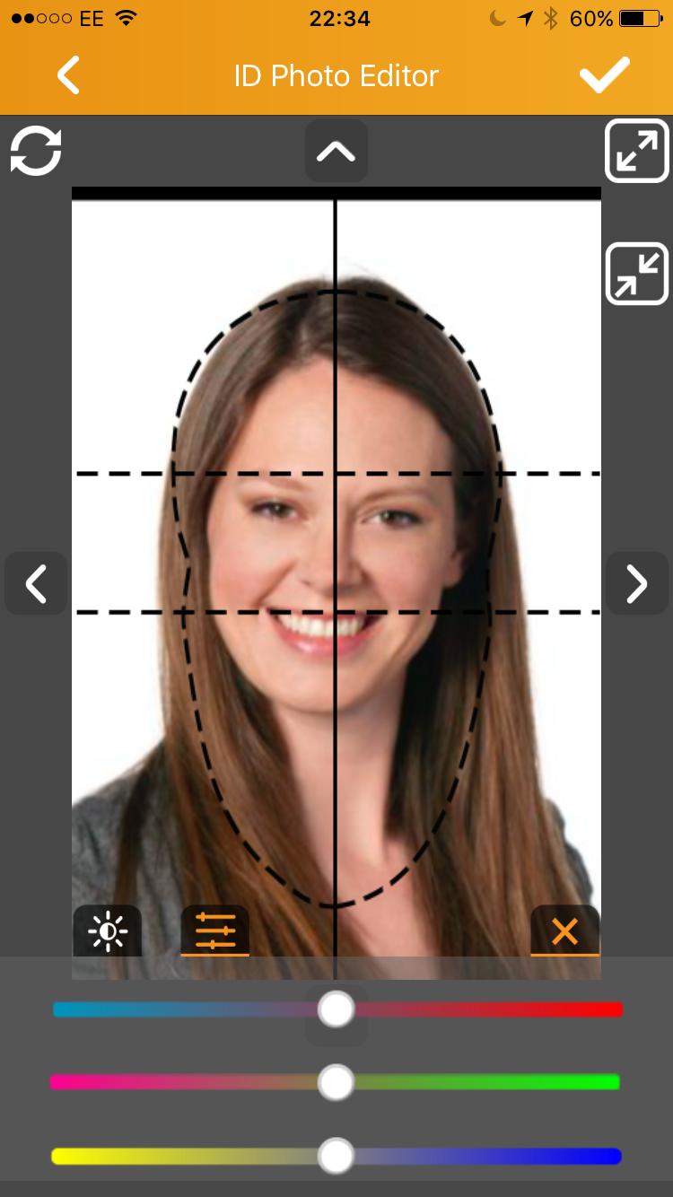 Printing ID Photos using the HiTi PrinBiz App