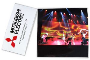 Mitsubishi Perforated Print Media