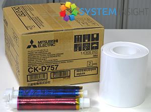 ck757 media ribbon and paper