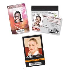 plastic id cards example
