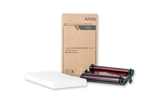 HiTi P310W Paper and Ribbon