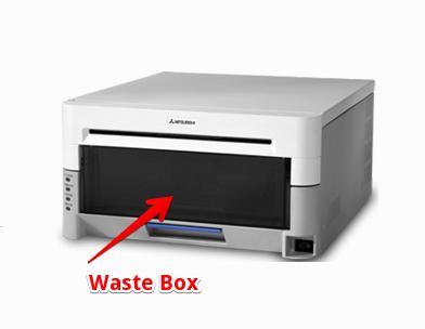 Mitsubishi CP-3800DW Waste Box