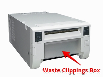 Waste Clippings Box for D70 Printer