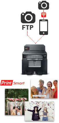 Print wireless using your phone or device.