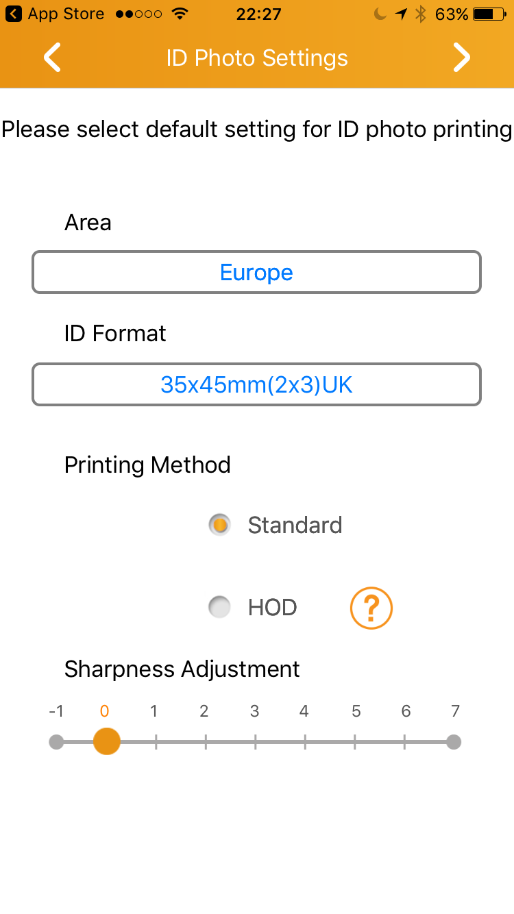 Printing ID Photos using the HiTi PrinBiz App