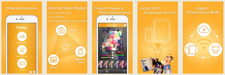 Prinbiz App Stages