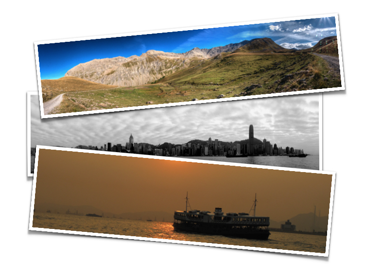 Panoramic Prints printed on a D90 Dye Sub Photo Printer