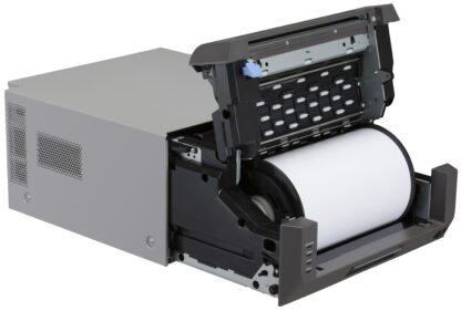 Citizen CX-02W Photo Printer Paper Open